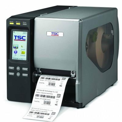 TSC TTP-2410MT Endüstriyel Barkod Etiket Yazıcı