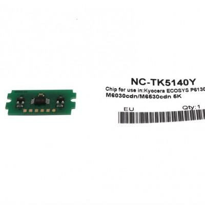 Kyocera Mita TK-5140 Toner Chip Sarı Ecosys M6030-P6130-M6530 (1T02NRANL0)