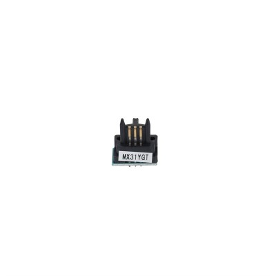Sharp MX-31GT Toner Chip Sarı MX-2600-3100-2601-3101-4100-4101-5000-5001