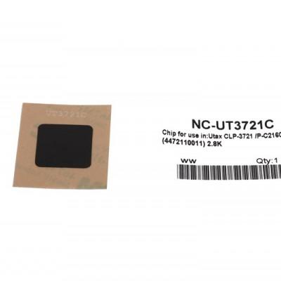 Utax P-C2160 Mavi Toner Chip CLP3721-CLP4721 DC6526-6626 CD5526
