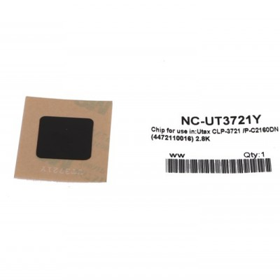 Utax P-C2160 Sarı Toner Chip CLP3721-CLP4721 DC6526-6626 CD5526