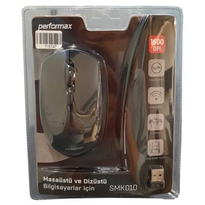 Performax SMK010 Kablosuz Siyah Optik Mouse