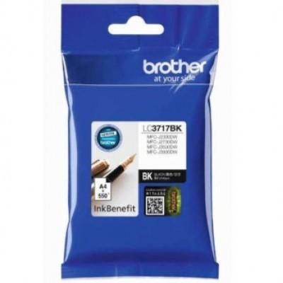 Brother LC3717BK Siyah Orjinal Kartuş