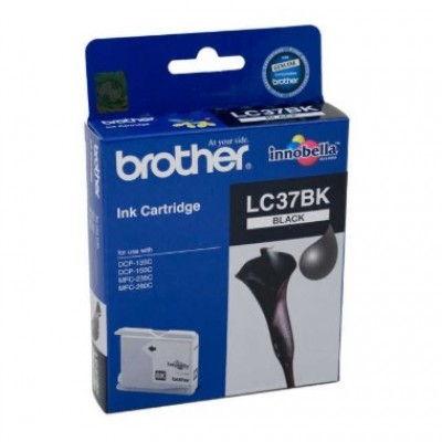 Brother LC37BK Siyah Orjinal Kartuş