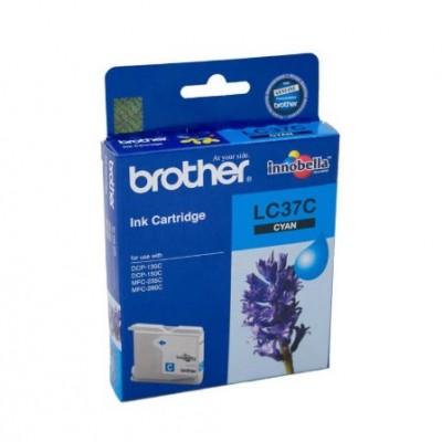 Brother LC37C Mavi Orjinal Kartuş