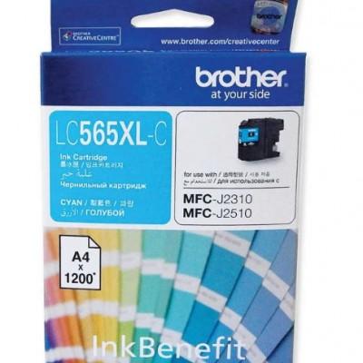 Brother LC565XLC Mavi Orjinal Kartuş