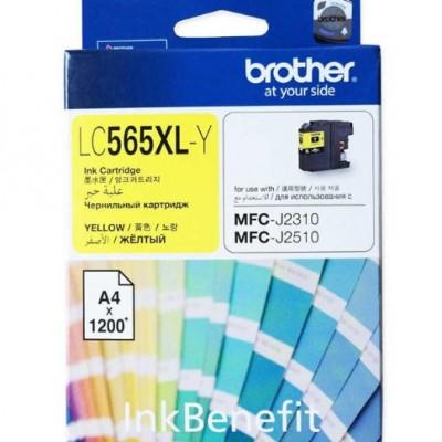 Brother LC565XLY Sarı Orjinal Kartuş