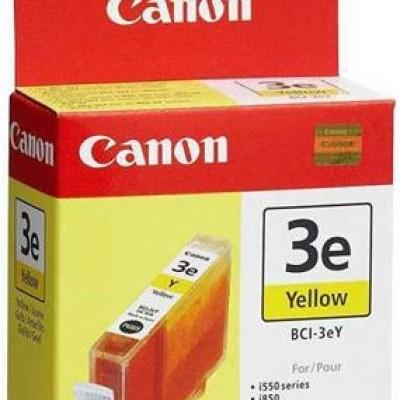 Canon BCI-3E Sarı Orjinal Mürekkep Kartuş