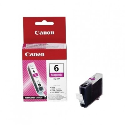 Canon BCI-6M Kırmızı Orjinal Kartuş