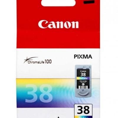 Canon CL-38 Renkli Orjinal Kartuş