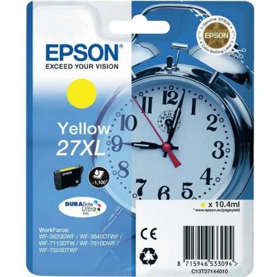 Epson (27XL-T2714) C13T27144020 Sarı Orjinal Kartuş Yüksek Kapasiteli