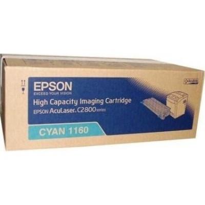 Epson (C2800) C13S051160 Mavi Orjinal Toner Yüksek Kapasiteli