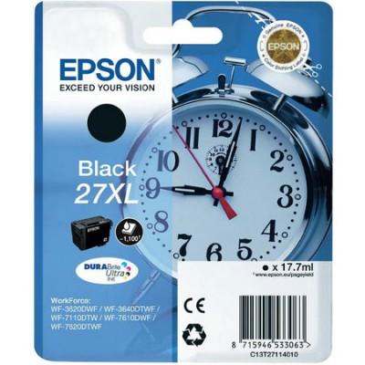 Epson (27XL-T2711) C13T27114020 Siyah Orjinal Kartuş Yüksek Kapasiteli