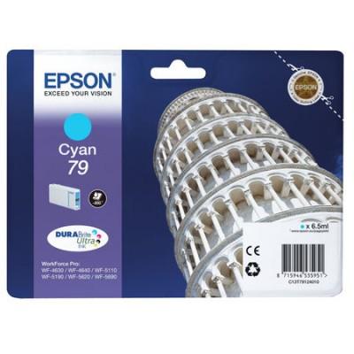 Epson (79-T7912) C13T79124010 Mavi Orjinal Kartuş