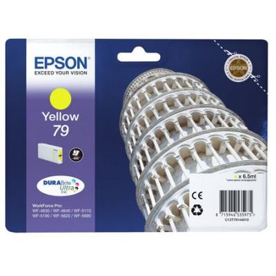 Epson (79-T7914) C13T79144010 Sarı Orjinal Kartuş