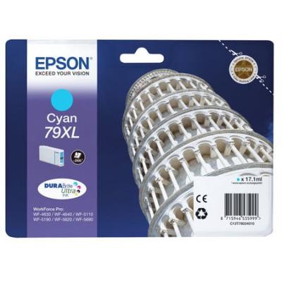 Epson (79XL-T7902) C13T79024010 Mavi Orjinal Kartuş Yüksek Kapasiteli
