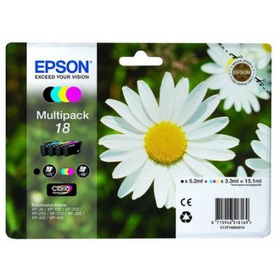 Epson (18-T1806) C13T18064020 Orjinal Kartuş Avantaj Paketi