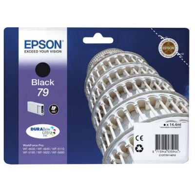 Epson (79-T7911) C13T79114010 Siyah Orjinal Kartuş