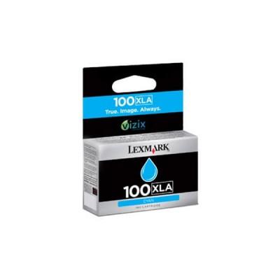 Lexmark (100XLA) 14N1093 Mavi Mürekkep Kartuş