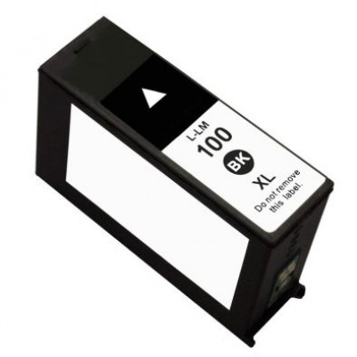 Lexmark (100XL) 14N1068E Siyah Muadil Kartuş Yüksek Kapasiteli