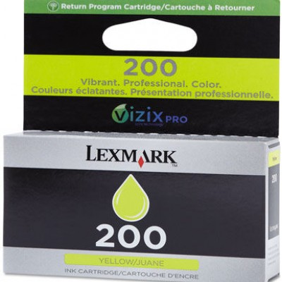 Lexmark (220) Sarı 14L0088A Orjinal Kartuş