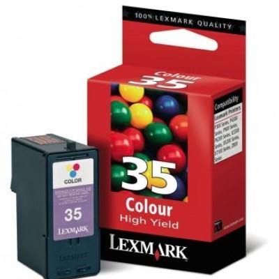 Lexmark  (35) 18C0035E Renkli Orjinal Kartuş