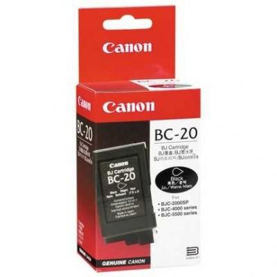 Canon BC-20 Siyah Orjinal Kartuş