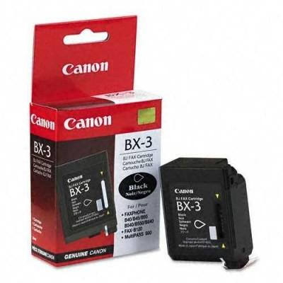 Canon BX-3 Siyah Orjinal Kartuş
