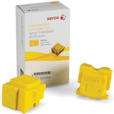 Xerox ColorQube 8570 - (108R00938) Sarı Orjinal Katı Mürekkep 2Li