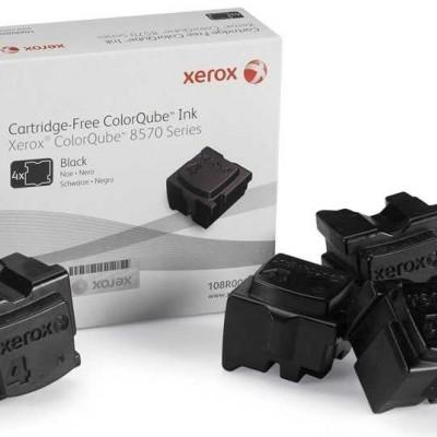 Xerox ColorQube 8570 - (108R00940) Siyah Orjinal Katı Mürekkep 4Lü