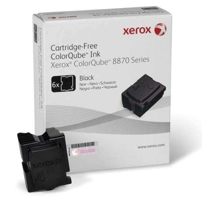 Xerox ColorQube 8870 - (108R00961) Siyah Orjinal Katı Mürekkep 6Lı