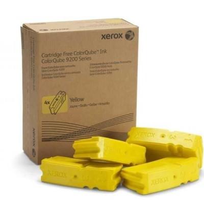 Xerox 9201 (108R00839) Sarı Orjinal 4'Lü Katı Mürekkep