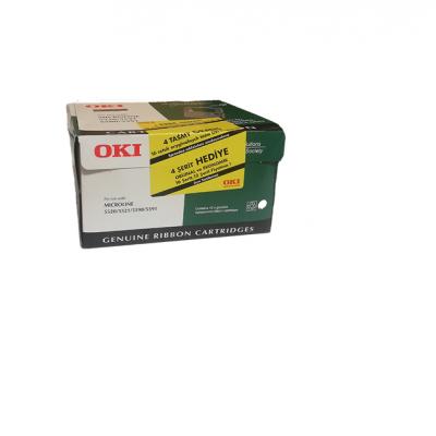 Oki 3320 (01277701) Siyah Orjinal Şerit 16Lı Paket