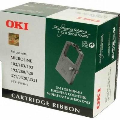 Oki 182 (01277701) Siyah Orjinal 16Lı Paket Şerit