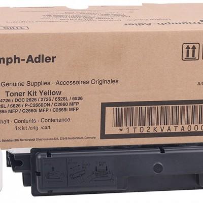 Utax CDC-1626-1726-3726-4726 / Triumph Adler DCC-5526-6526 Orjinal Sarı Toner