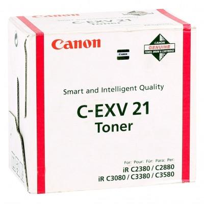 Canon EXV-21 Orjinal Kırmızı Toner