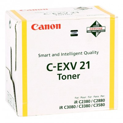 Canon EXV-21 Orjinal Sarı Toner