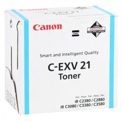 Canon EXV-21 Orginal Mavi Toner