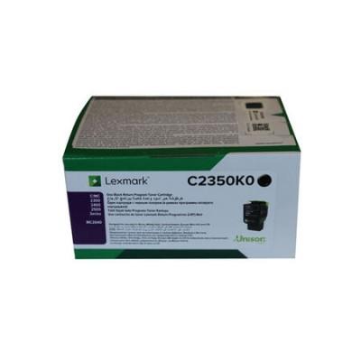 Lexmark (C2425) C2350K0 Siyah Orjinal Toner