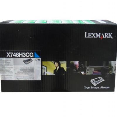 Lexmark  ( X748DE- X748DTE) X748H3CG Mavi Orjinal Toner