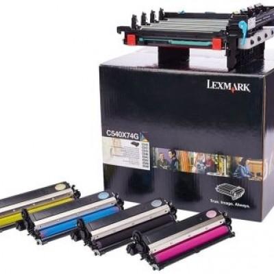 Lexmark (C540) C540X74G Siyah Ve Renkli Orjinal Drum Kiti