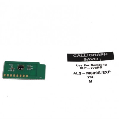 Samsung (609MS) Kırmızı Toner Chip CLP 775ND-770N (7000 Sayfa)