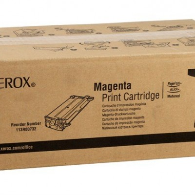 Xerox Phaser 6100HC Orjinal Kırmızı Toner