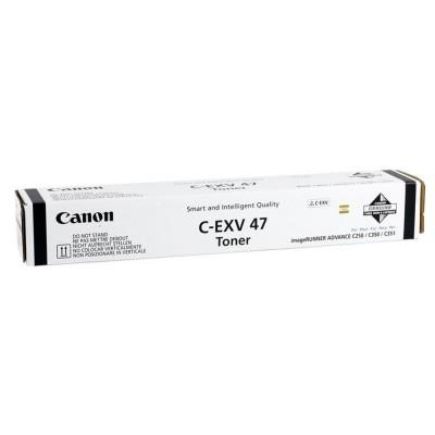 Canon C-EXV47BK Siyah Orjinal Toner