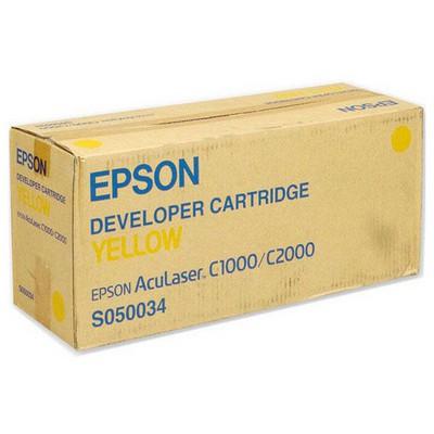 Epson C1100 (50034) Sarı Orijinal Toner