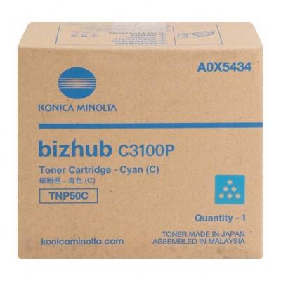 Konica Minolta BizHub TNP50C/C3100P Mavi Orjinal Toner