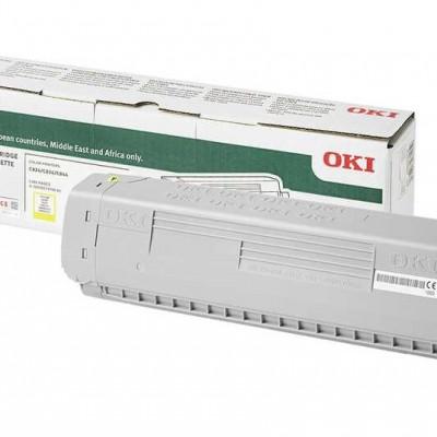 OKI (47095705) Sarı Orjinal Toner - C824 / C834 / C844