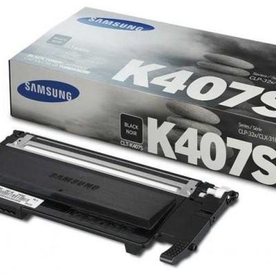 Samsung CLT-K407S Siyah Orjinal Toner