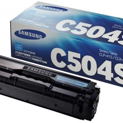 Samsung CLT-C504S Mavi Orjinal Toner