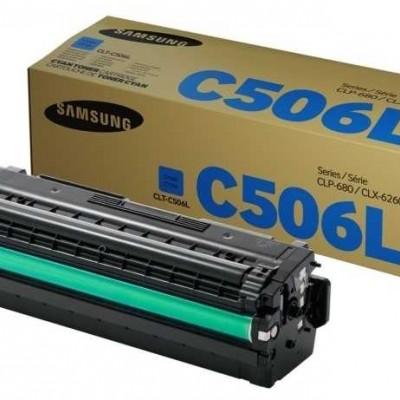 Samsung CLT-C506L Mavi Orjinal Toner